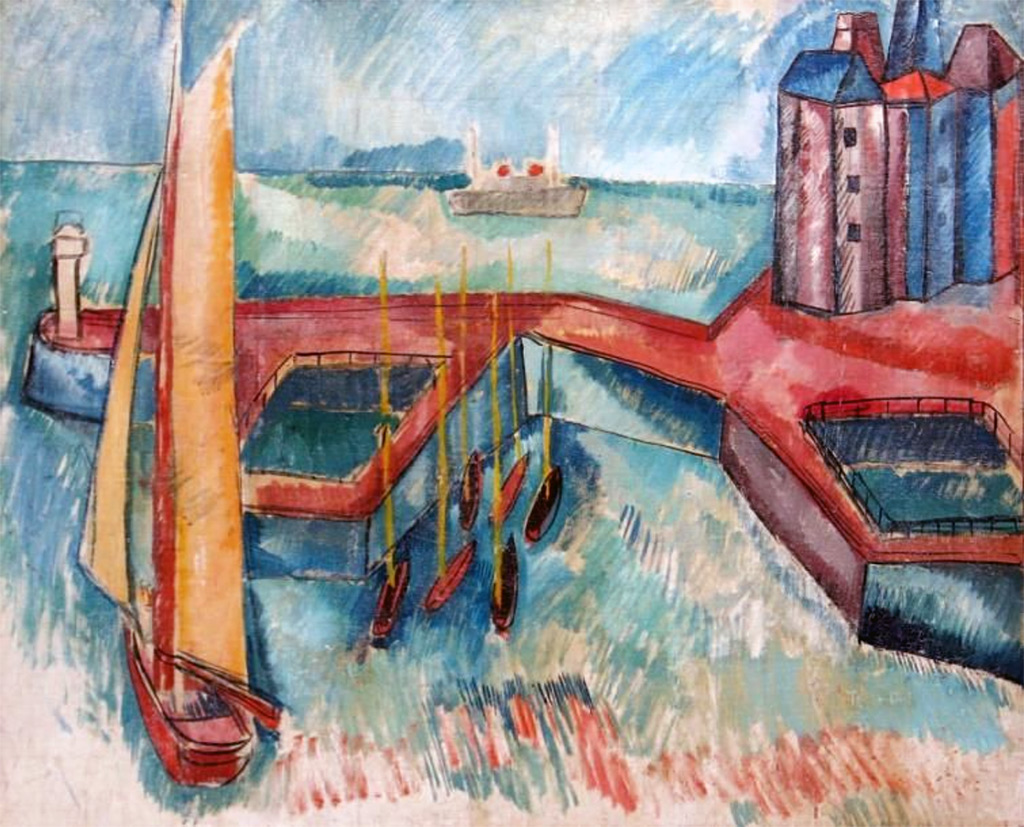 ???? Jean Dufy - The Port of Le Havre