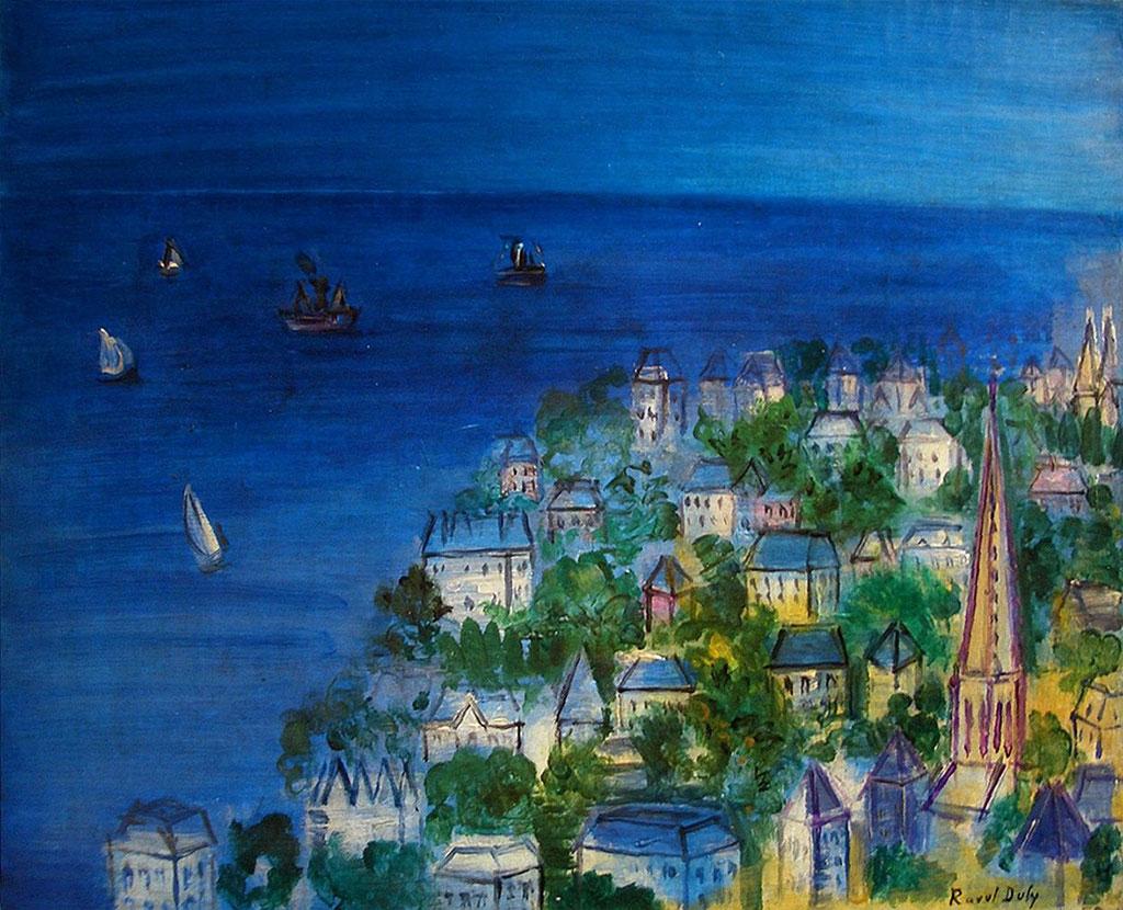 ???? Raoul Dufy - The Bay of Sainte-Adresse