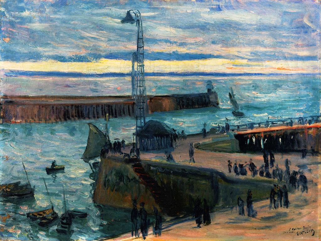1895 - Othon Friesz - the Port Entrance