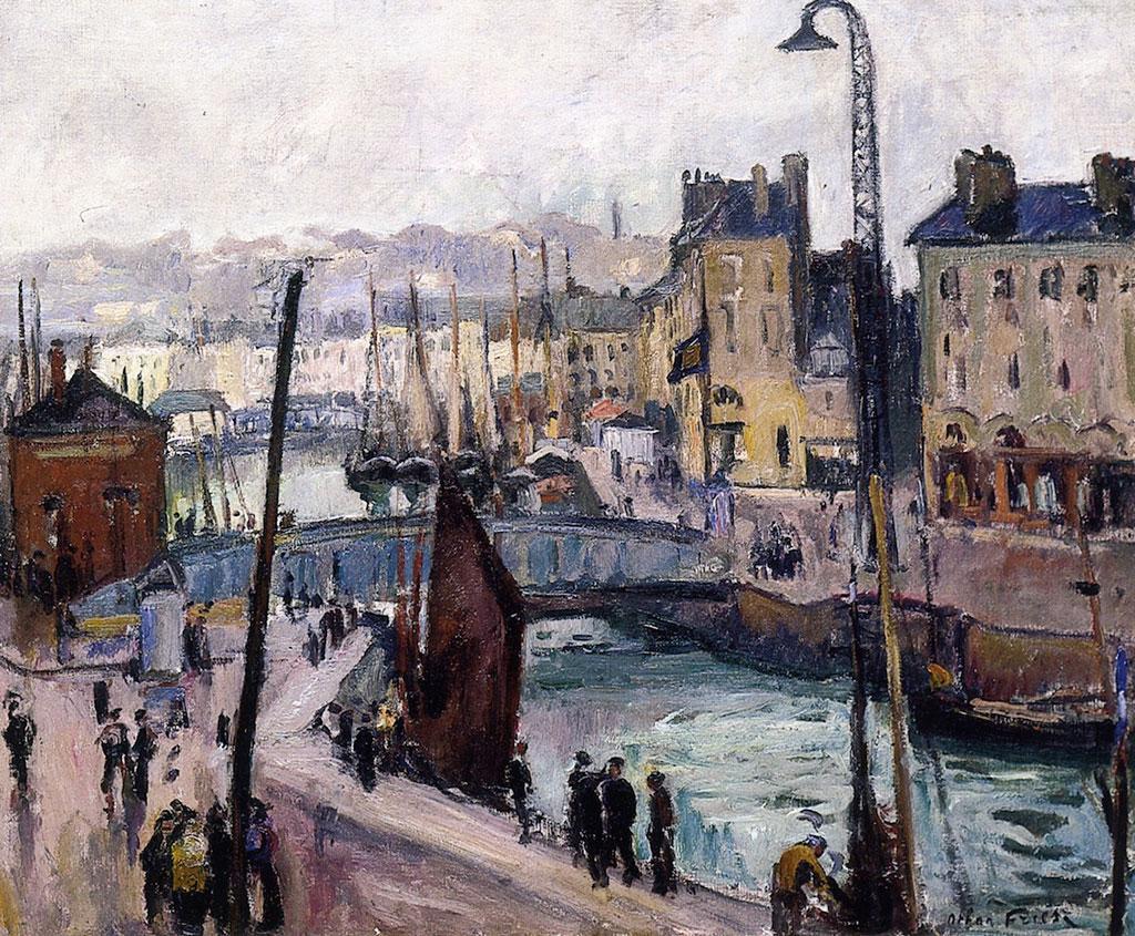 1906 - Othon Friesz - Bassin du Roy