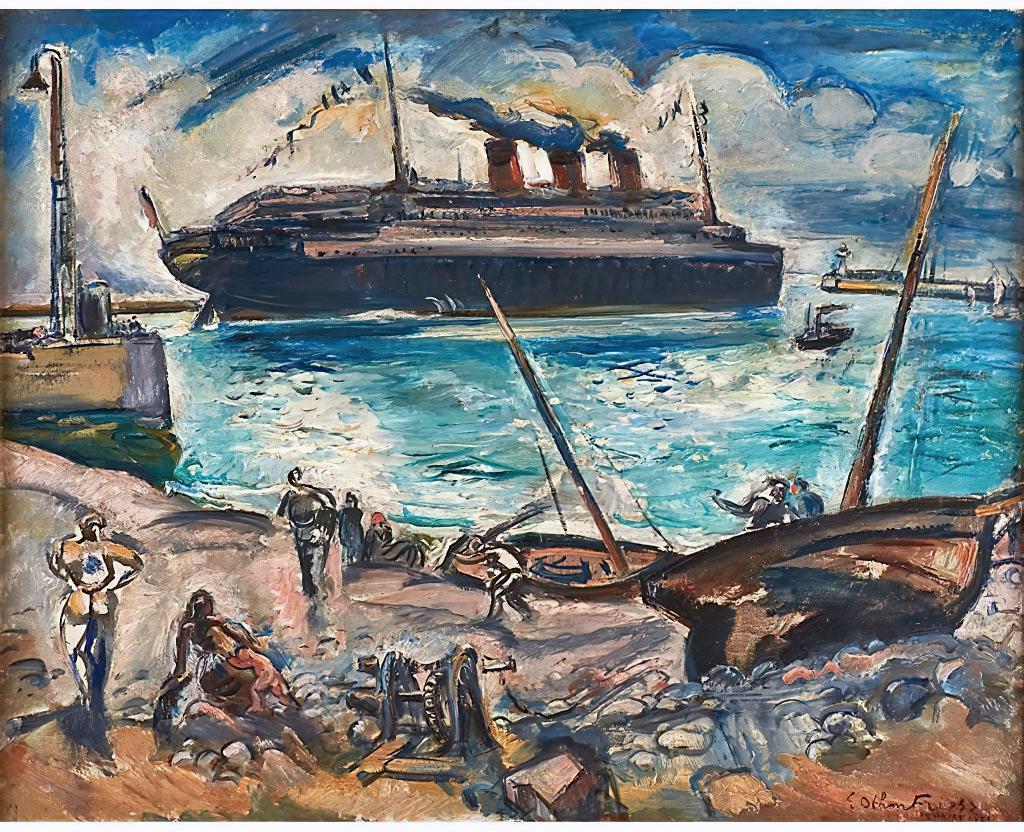 1921 Othon Friesz - Le Havre