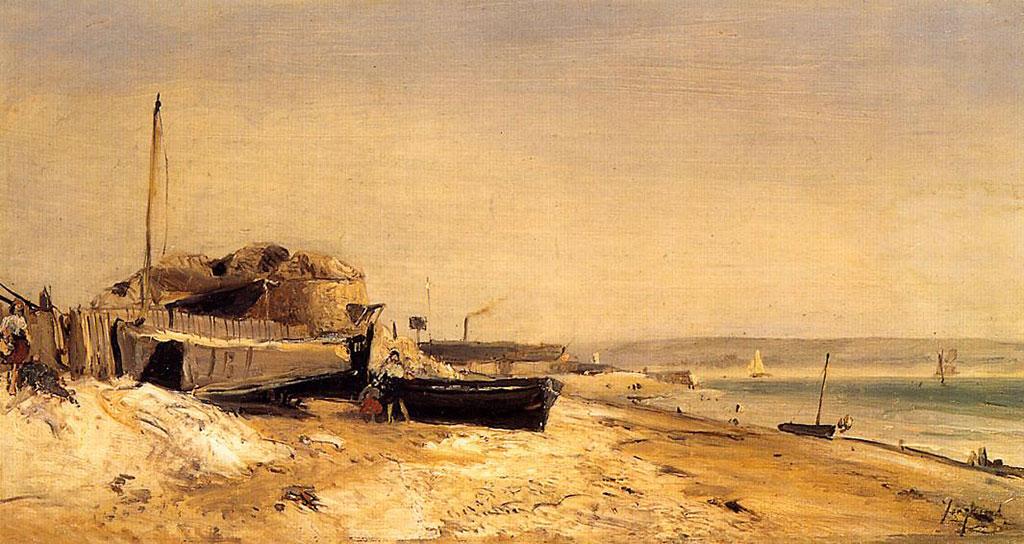 1853 Johan Jongkind - Sainte-Adresse