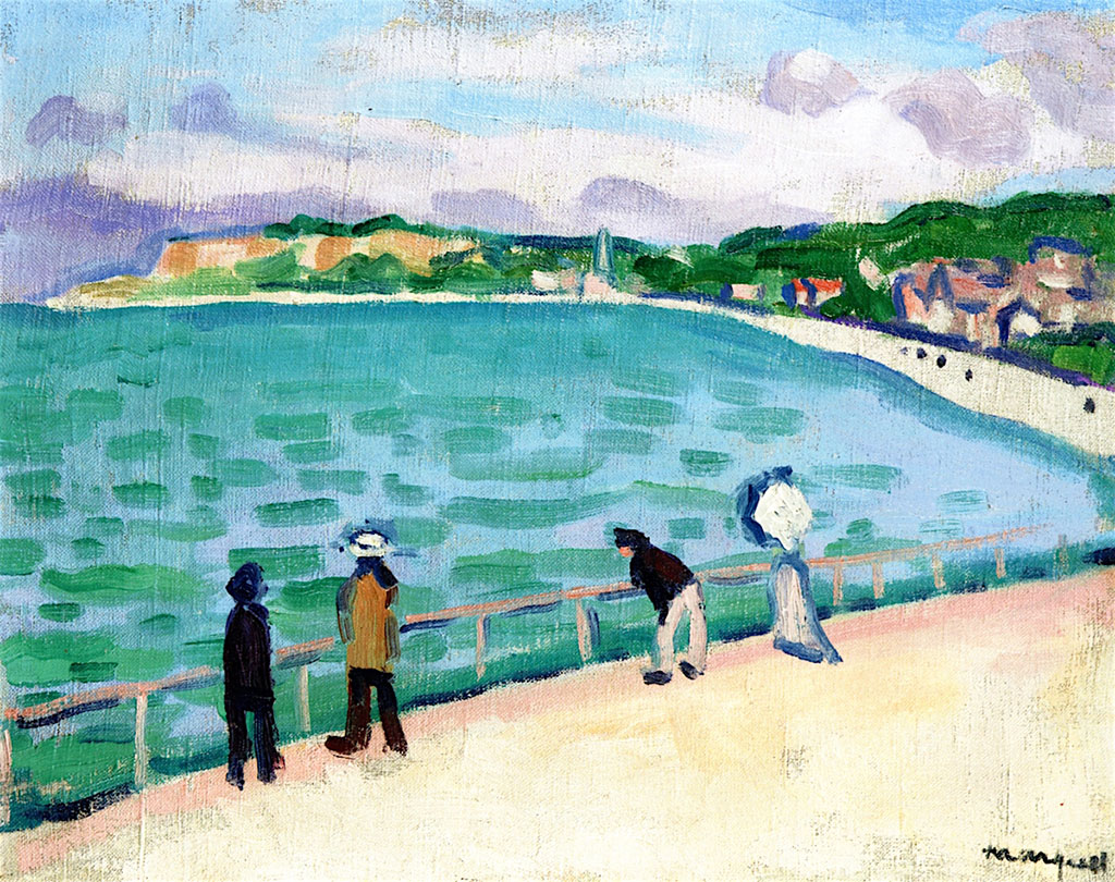 1905 Albert Marquet - The Jetty, Sainte-Adresse