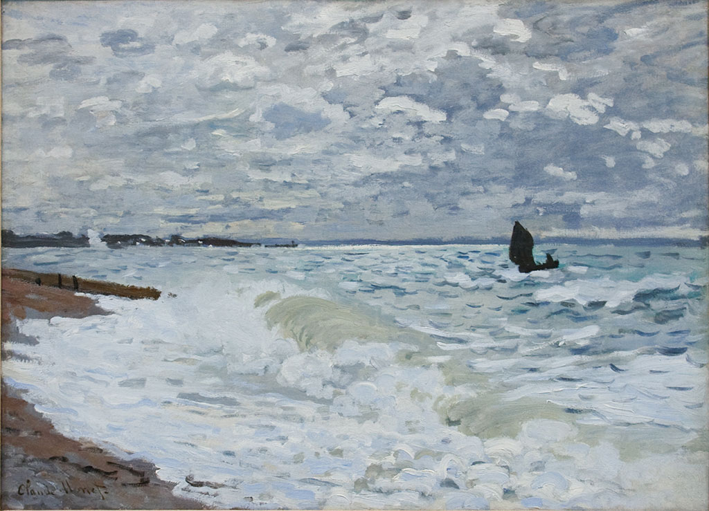 1868 Claude Monet - The Sea