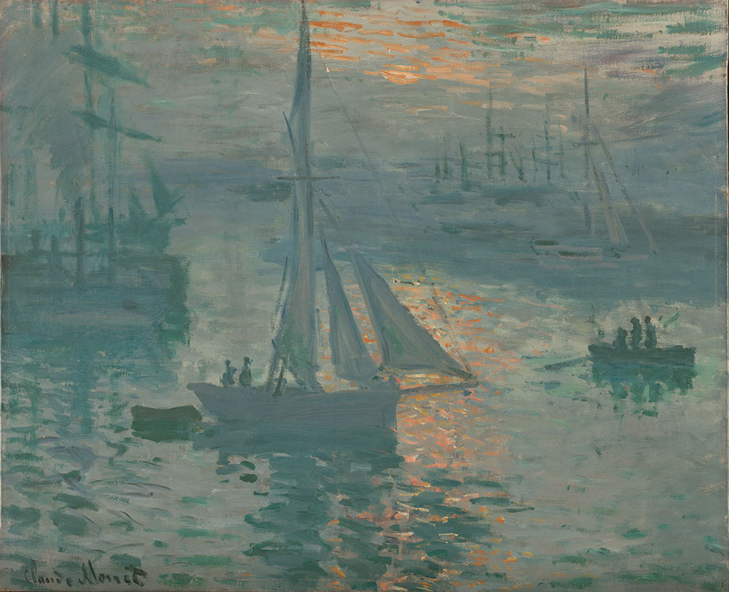 1873 Claude Monet - Sunrise