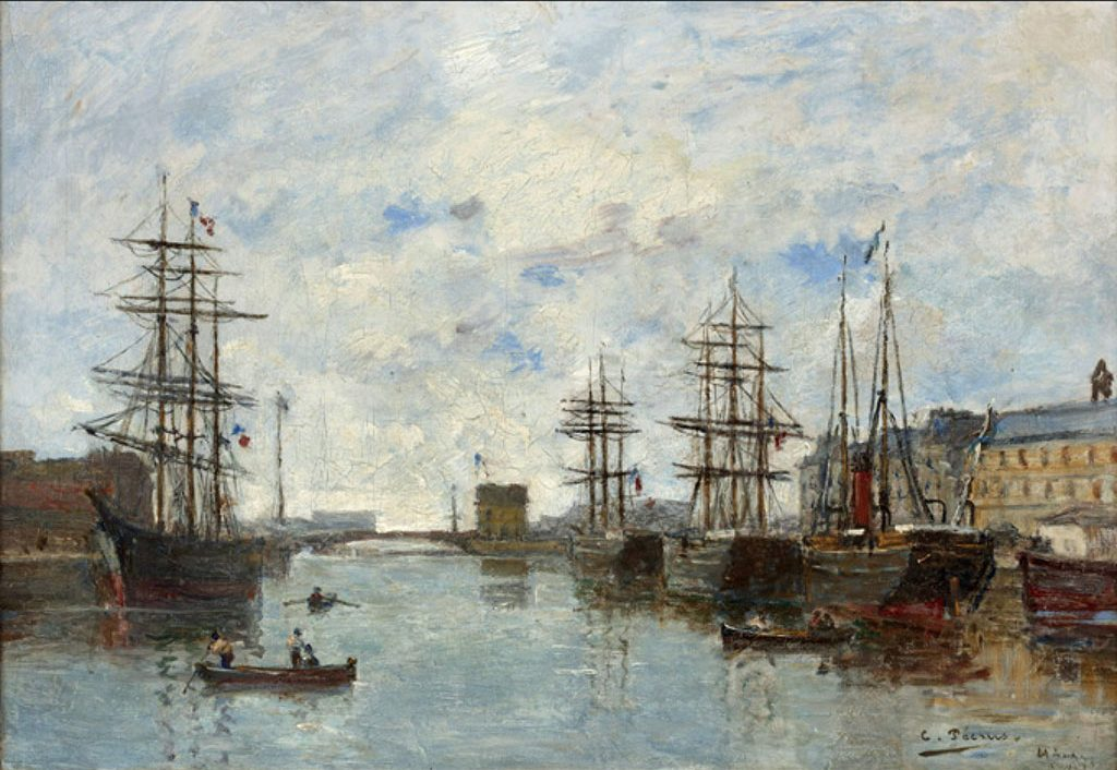 ???? Charles Pecrus - Entry to the Port of Le Havre