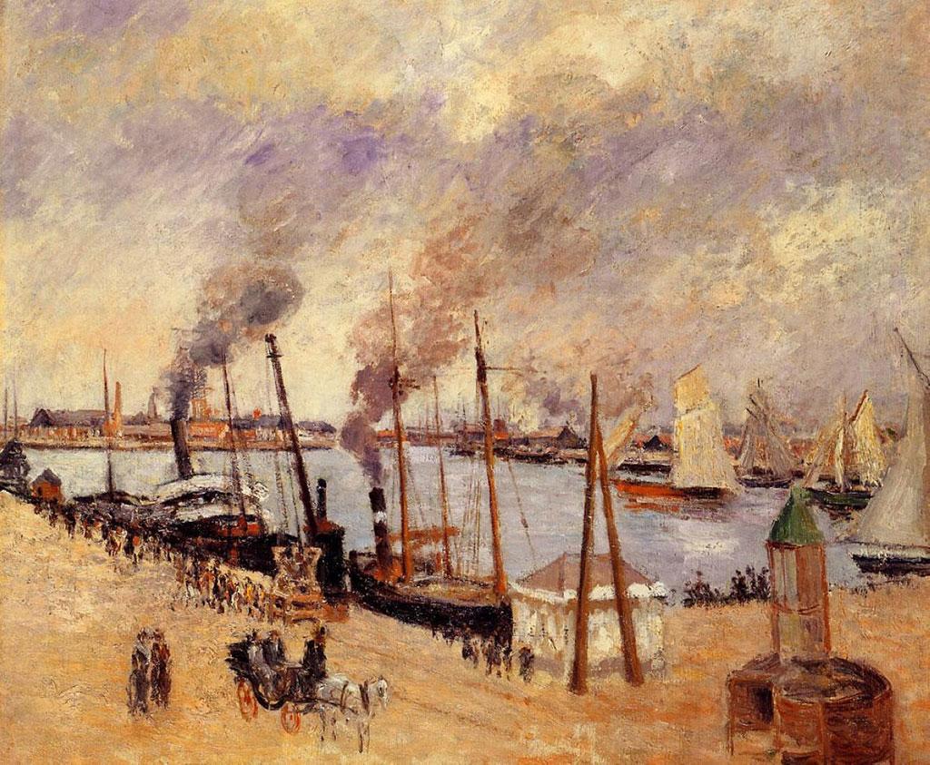 Camille Pissarro 1903 - Port