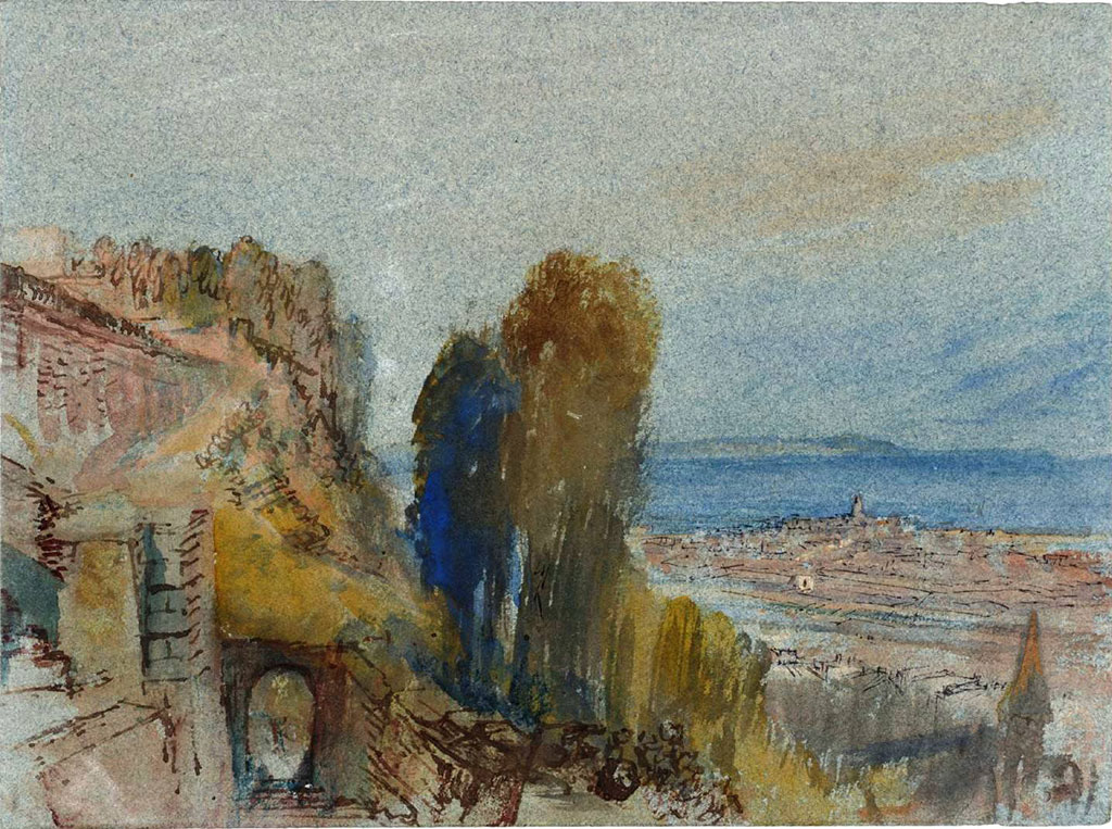 William Turner 1832 - Le Havre from near the Fort de Sainte-Adresse
