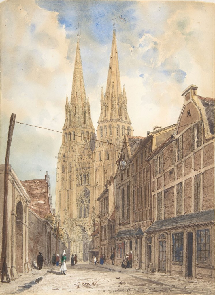 1832 Thomas Boys - View of Bayeux