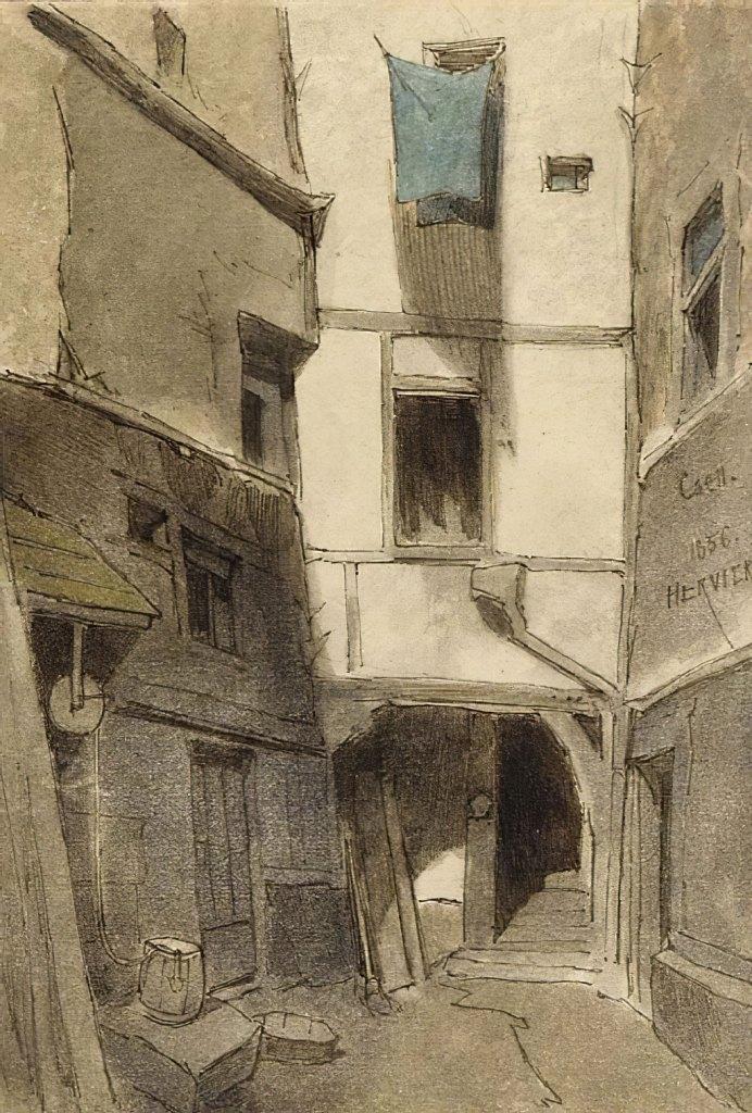 Louis Hervier 1856 - Caen