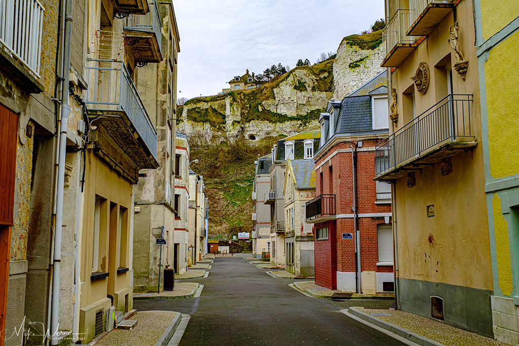 A typical street in Le Treport