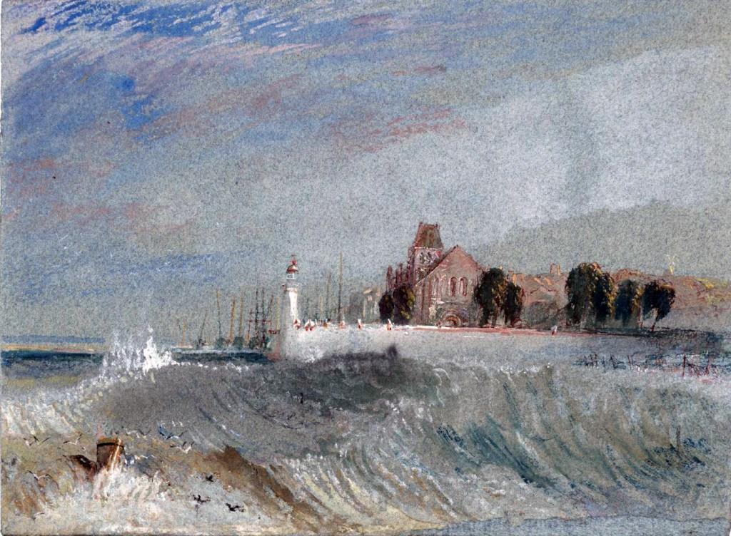 William Turner 1832 - Quillebeuf