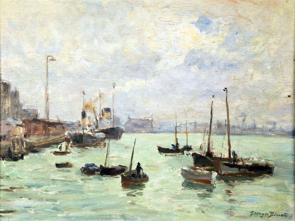???? - George Binet - The Port of Le Havre