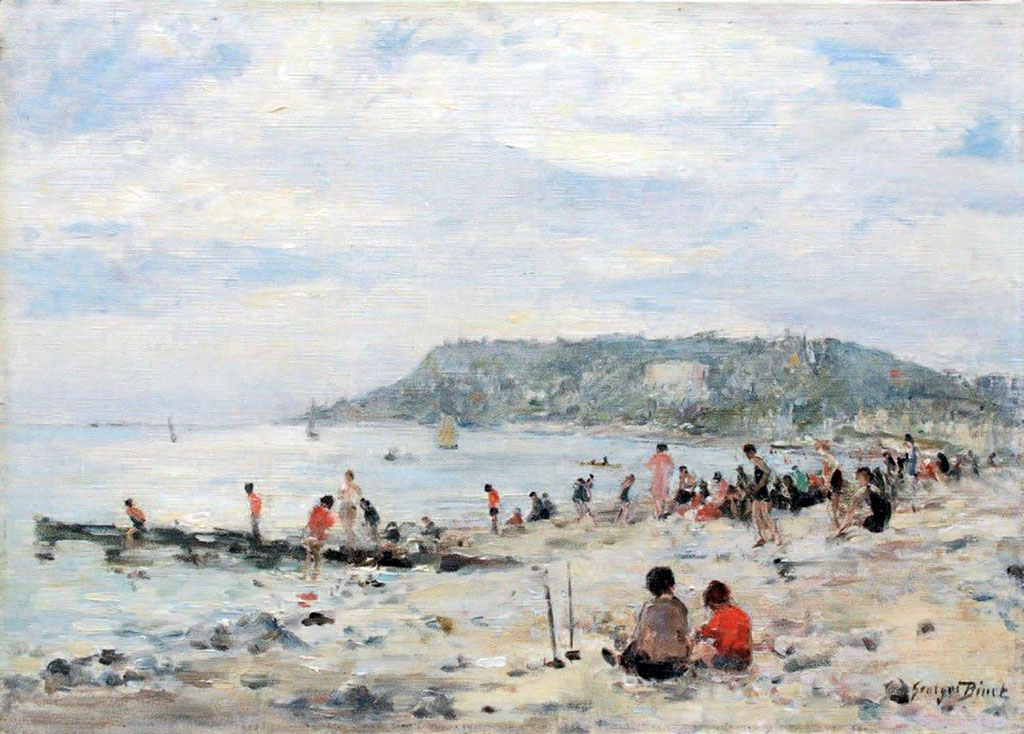 ???? - George Binet - Busy beach in Le Havre