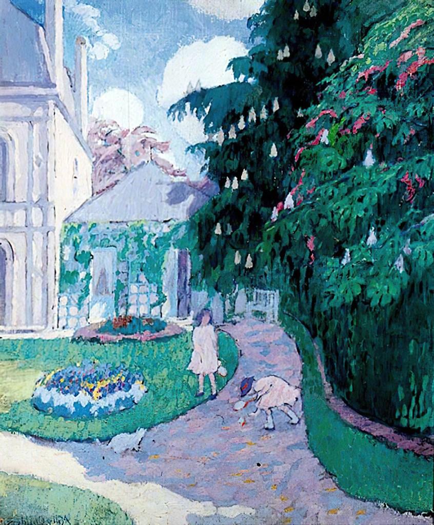 ???? - Milly Childers - Garden at Caudebec