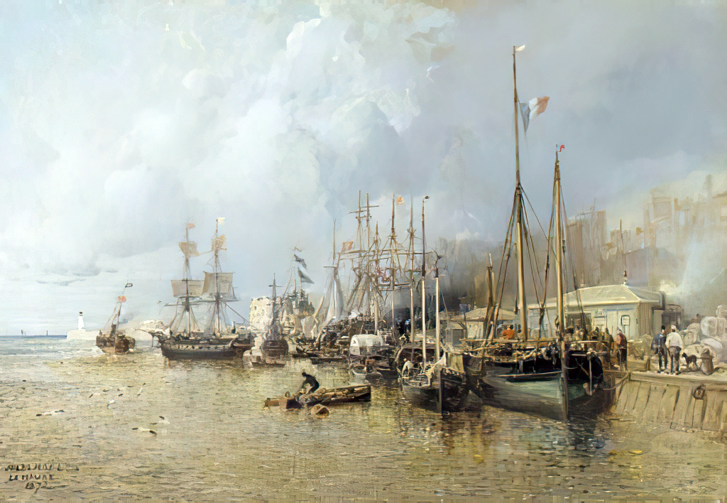 ???? - Jules Noel - Le Havre, the harbour