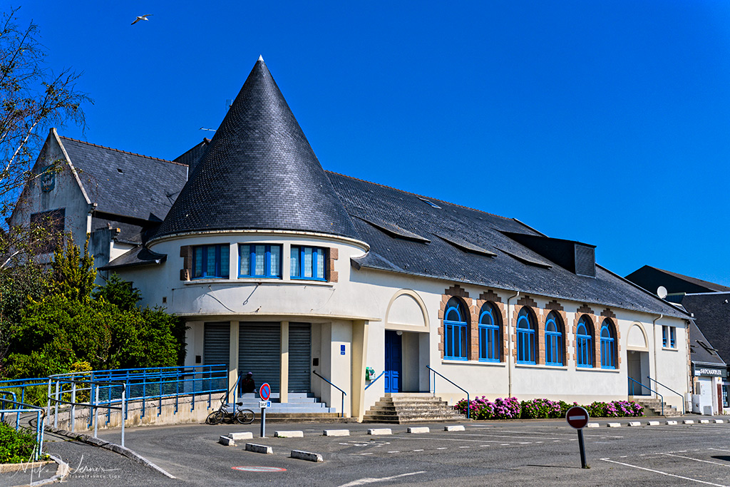 Communal Hall (Salle des Fete), built in 1958