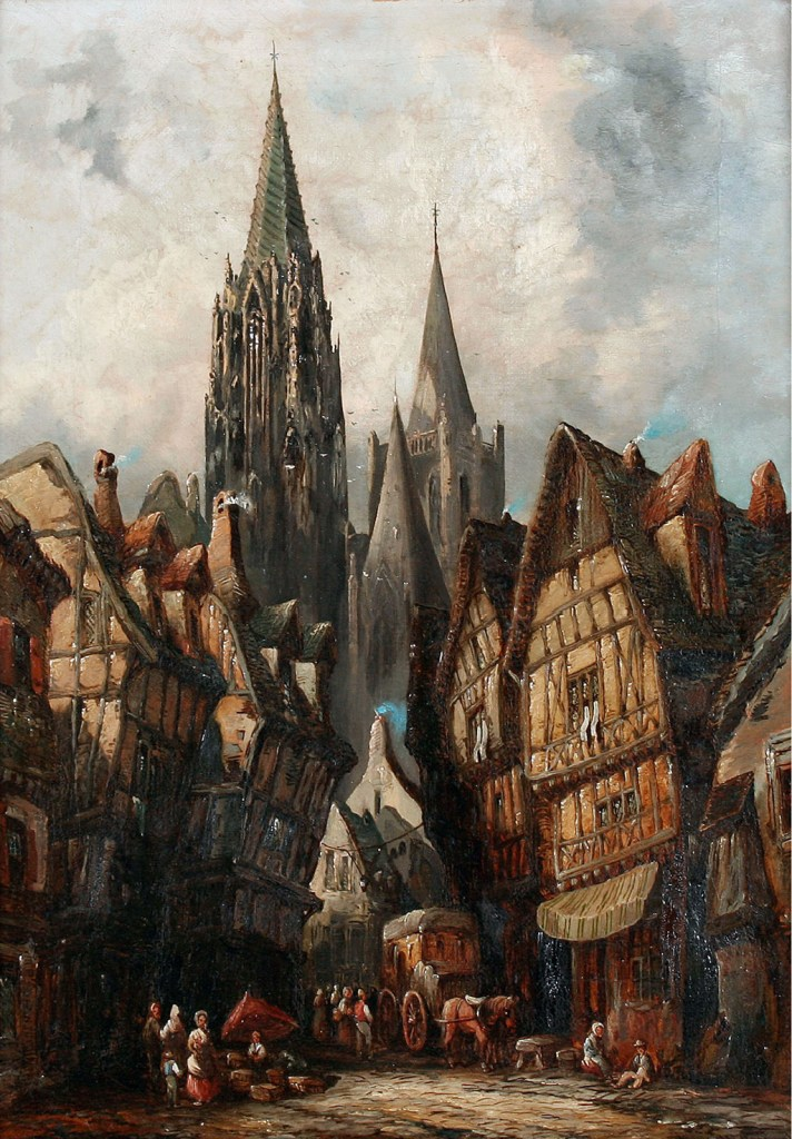 ???? - Henry Thomas Schafer - Caudebec-sur-Seine