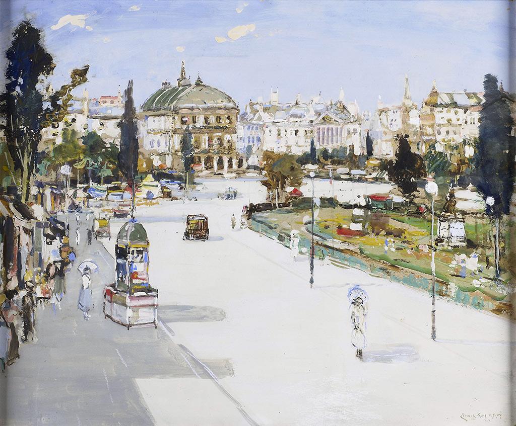 ???? James Kay - La place Gambetta, Le Havre