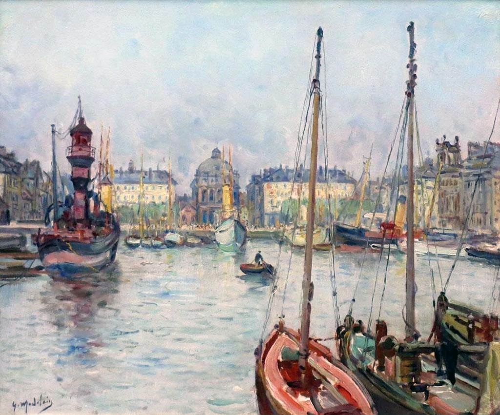???? - Gustave Madelain - Le Havre -  Bassin du Commerce, Place Gambetta