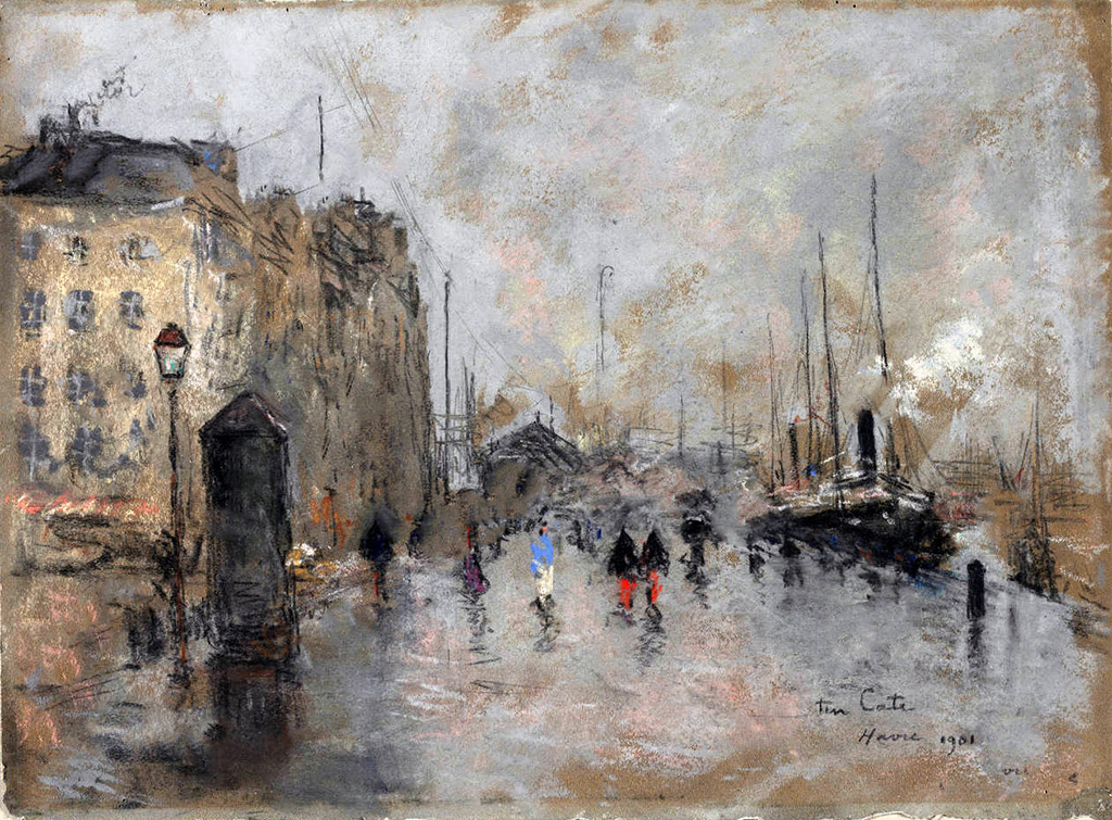 1901 - Siebe Johannes Ten Cate - The Grand Quai of Le Havre