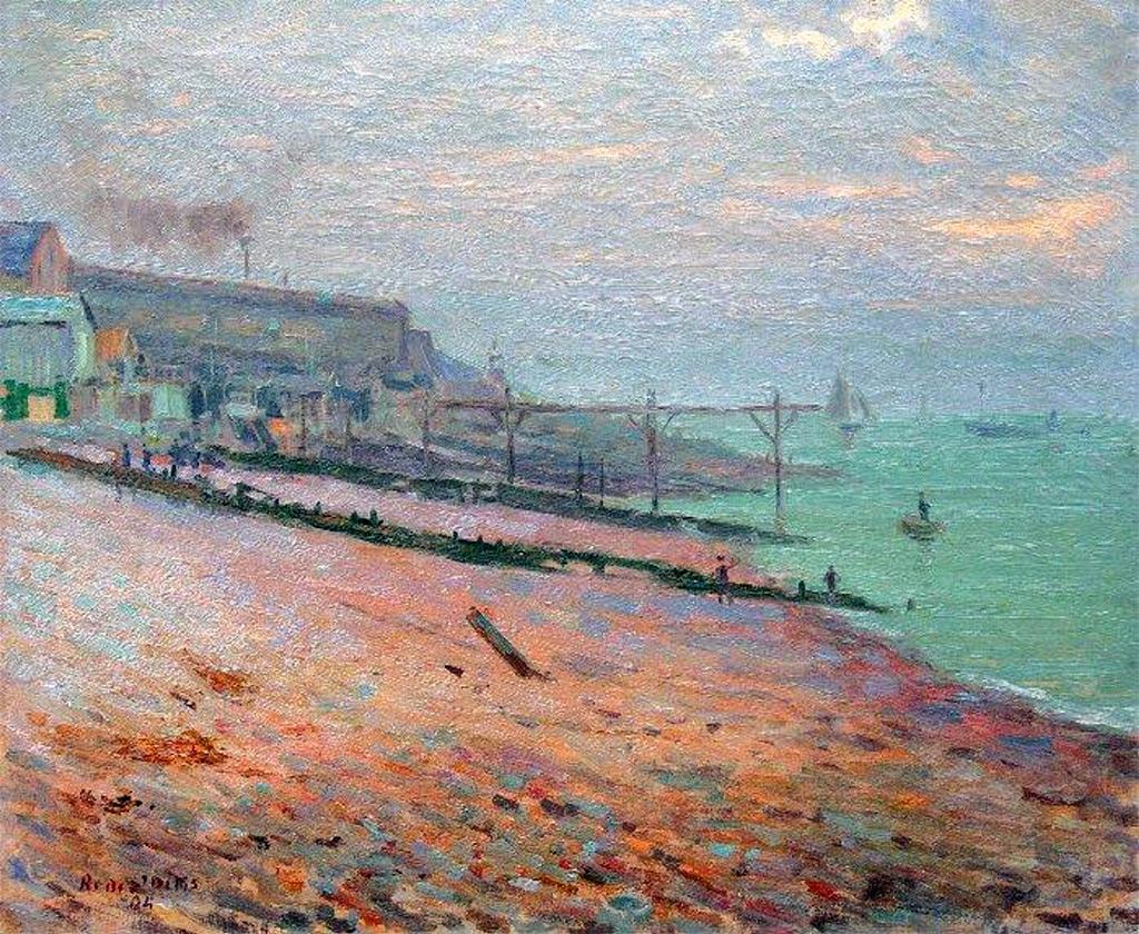 ???? Rene de Saint-Delis - The Augustin Normand shipyards