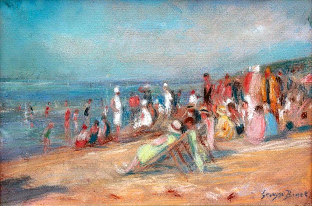???? - George Binet - Deauville, bath time