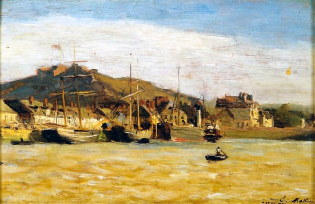 1880 - Emile Louis Mathon - Cherbourg Basin