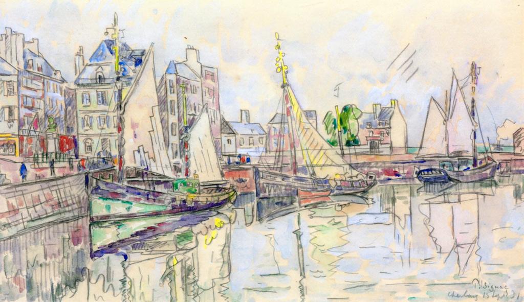 1931 - Paul Signac - Cherbourg