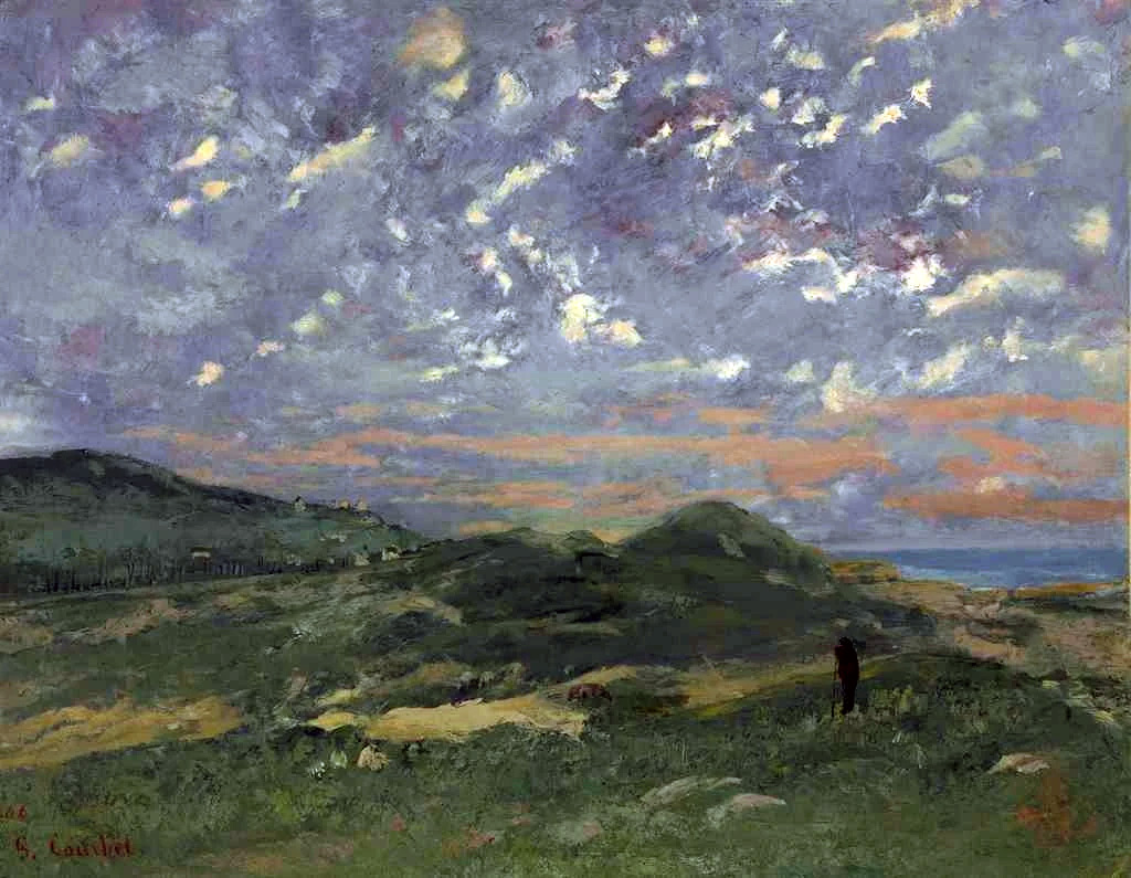 ???? - Gustave Courbet - The Dunes of Deauville