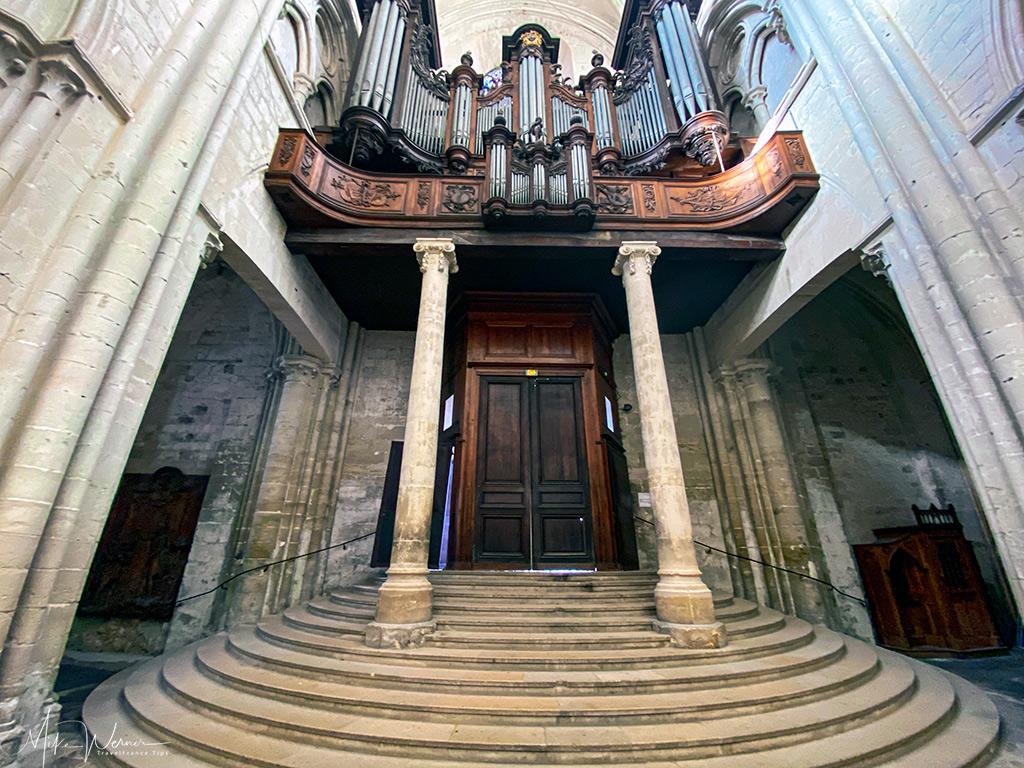 The Trinity Abbey main organ