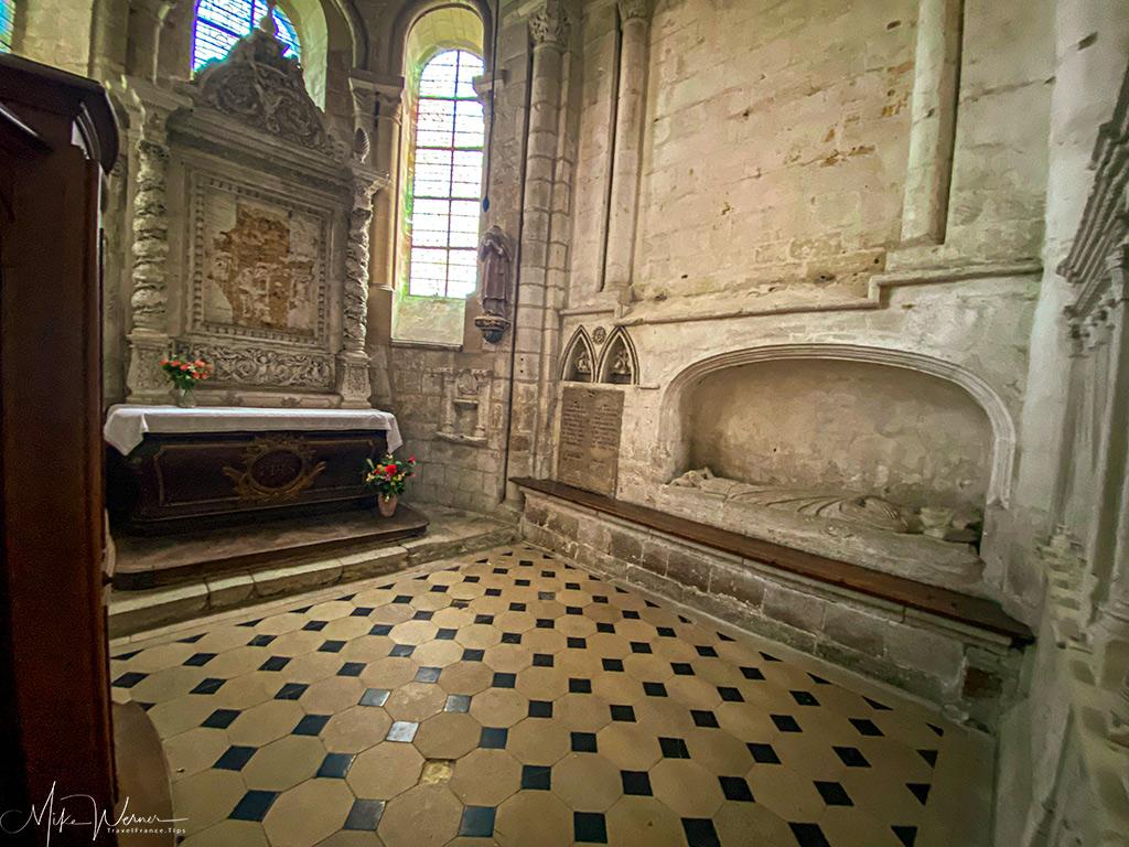 Saint Nicholas Chapel of the Trinity Abbey of Fecamp