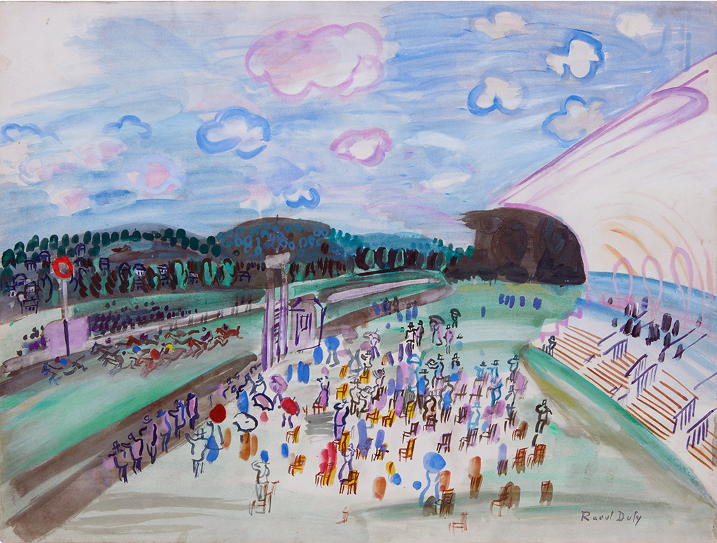 1929 - Raoul Dufy - Races at Deauville