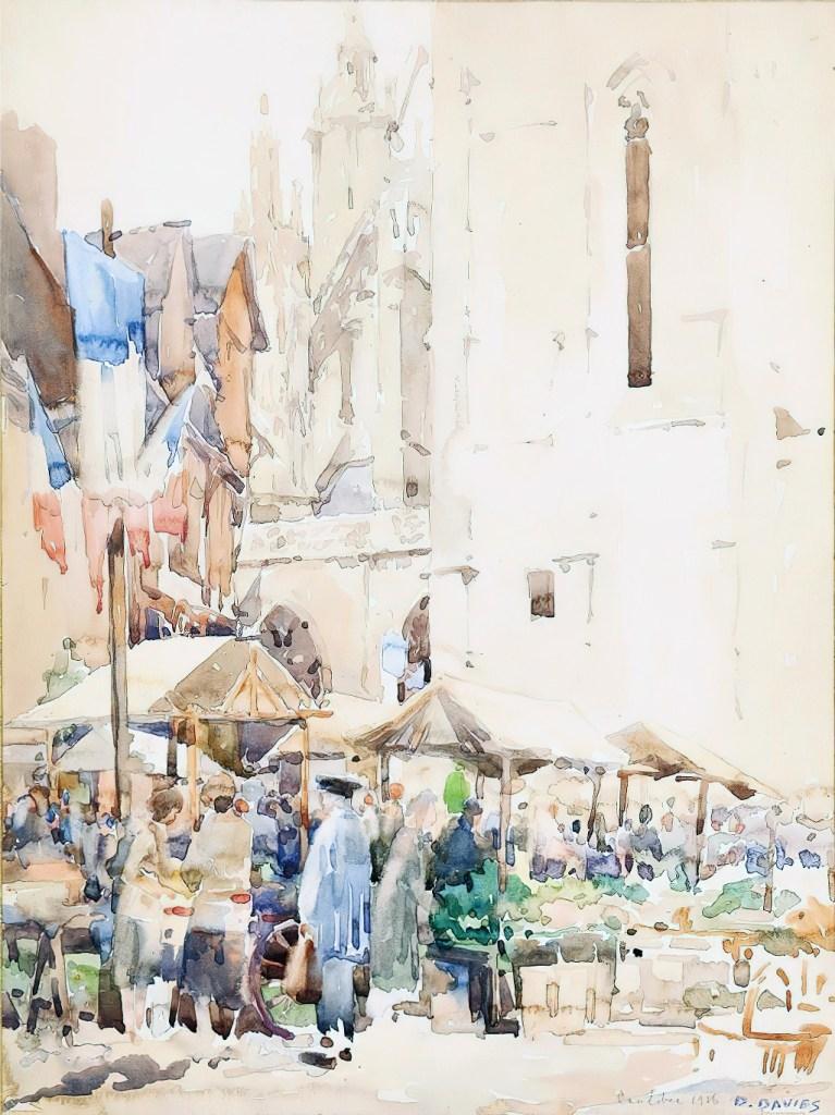 1926 - David Davies - Caudebec, France