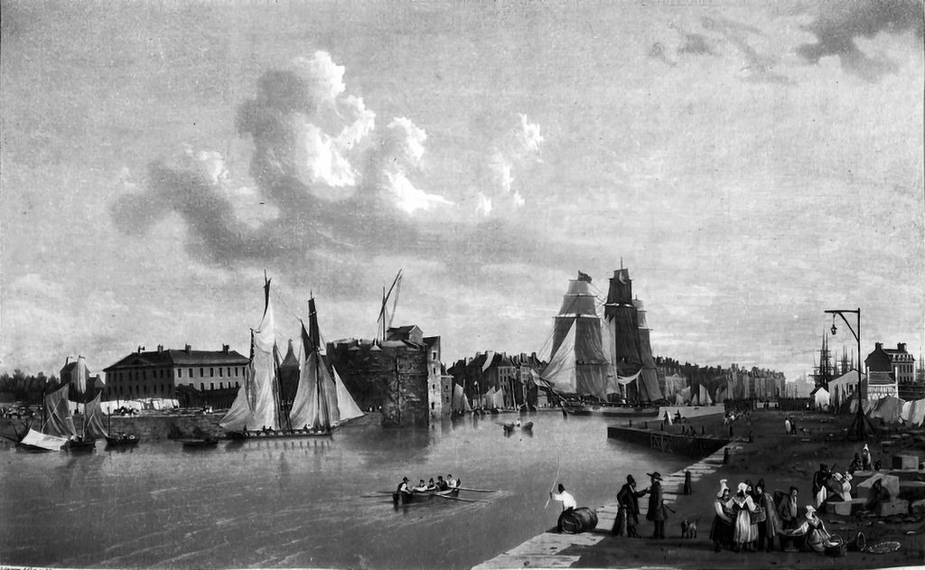 ???? - Ambroise Louis Garneray - 2nd view of Le Havre taken from the South East jetty