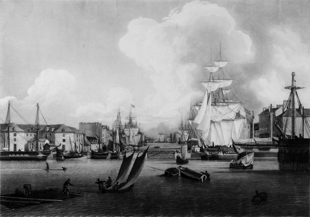 ???? - Ambroise Louis Garneray - View of the Large Harbour of Le Havre