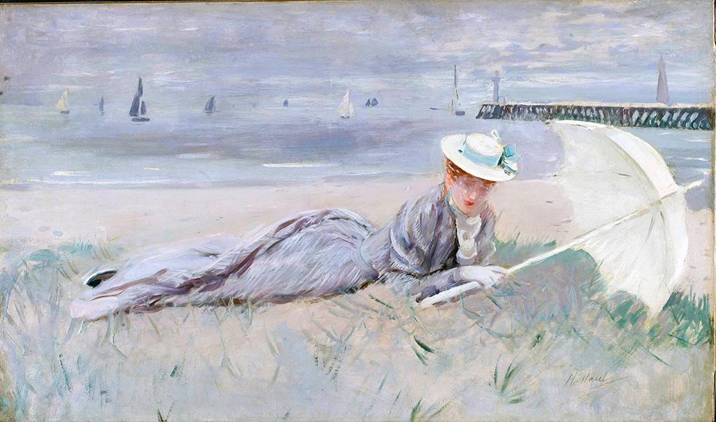 1902 - Paul Cesar Helleu - Alice Helleu on the Beach of Deauville