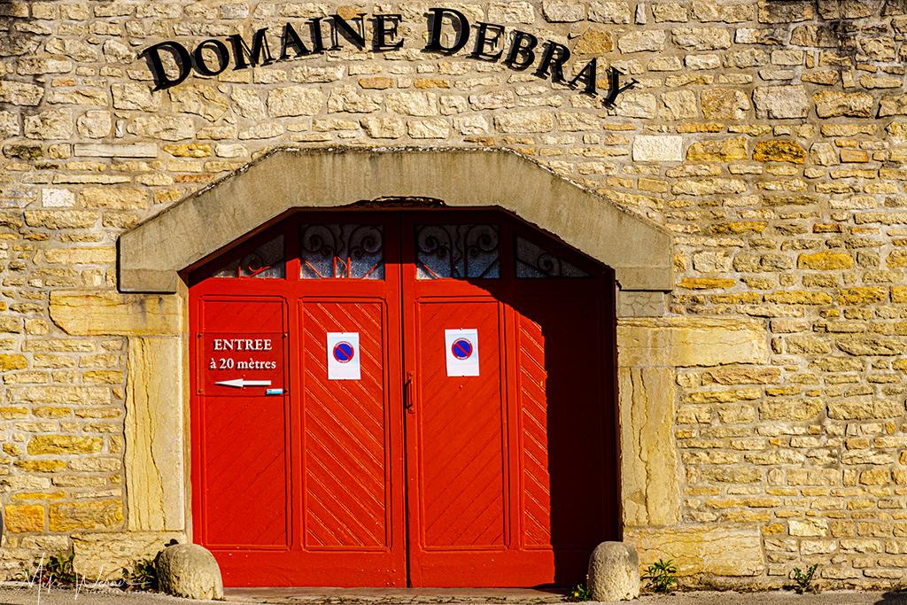 Winery Debray shop, cellars and tasting