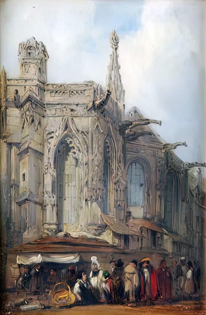 ???? - Bonington - Saint-Sauveur Church, Caen