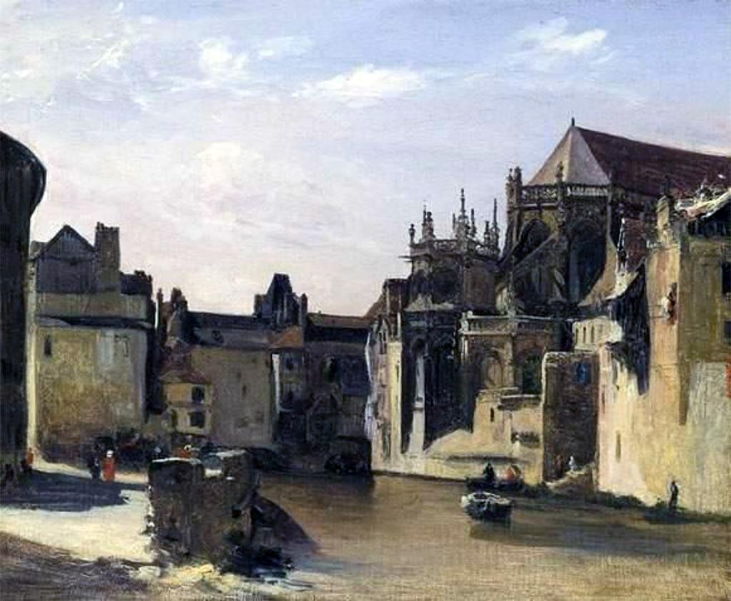 ???? - Bonington - Saint-Pierre of Caen