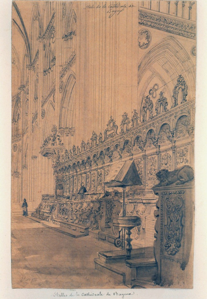 ???? - Thorigny - Stalls  of Bayeux Cathedral