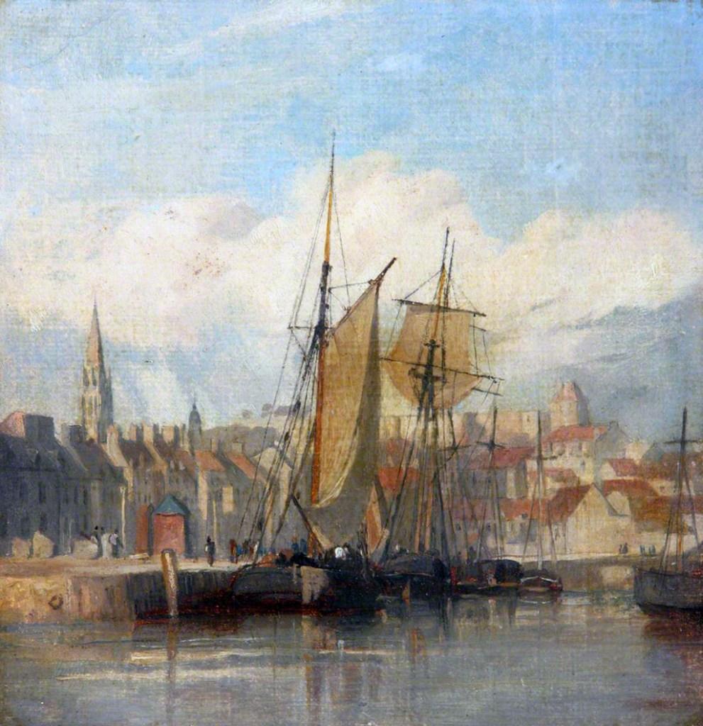 ???? Richard Parkes Bonington - Dieppe Harbour