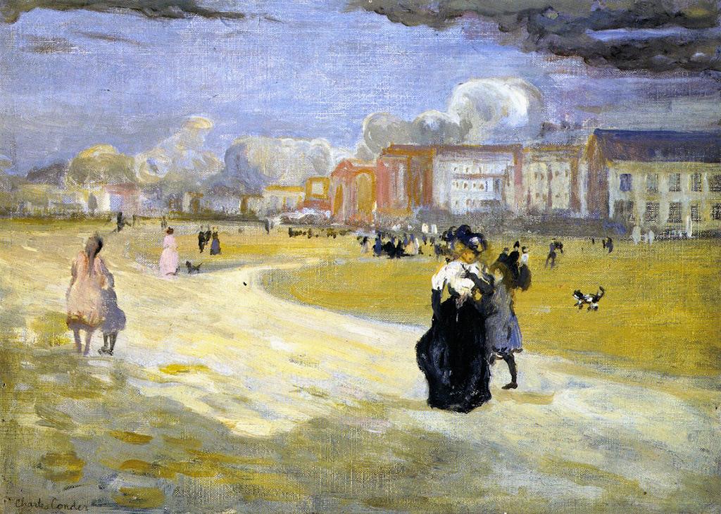 1895 - Charles Conder - Dieppe