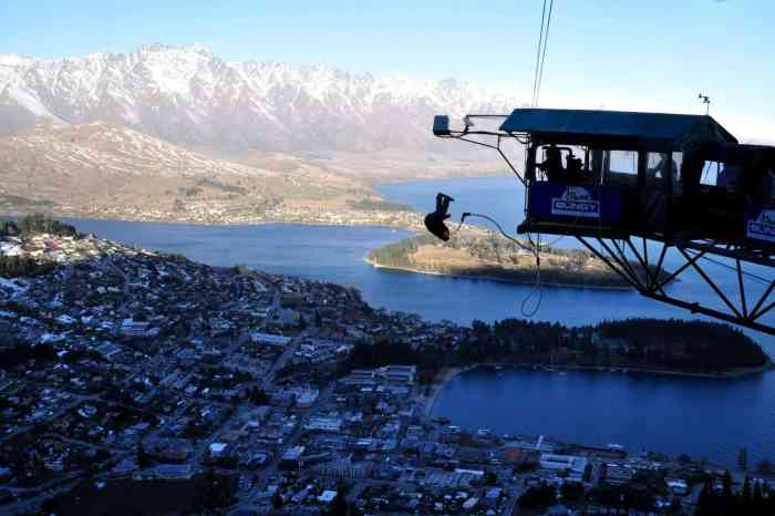 Bungy Jumping, Queenstown, NZ