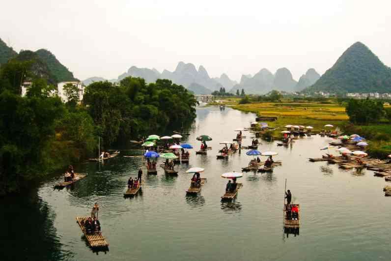 Yulong River, China