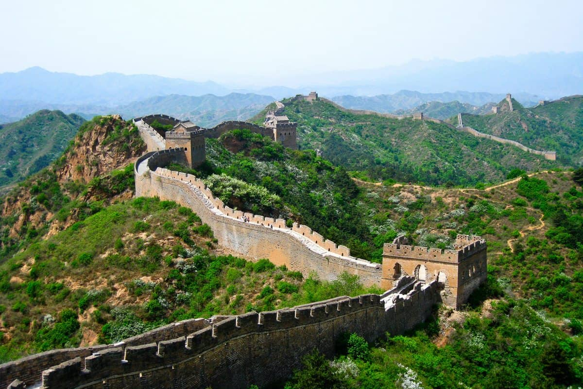 The Greatest Wall Ever! Hiking The Great Wall of China!