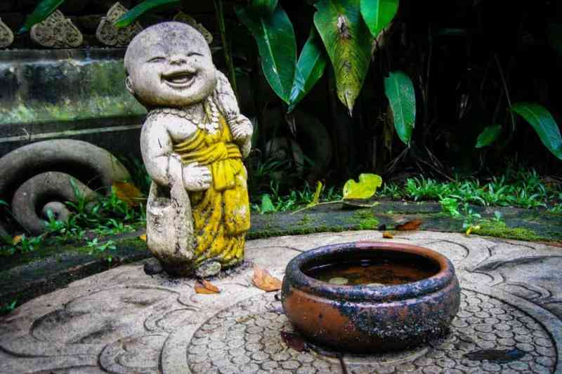 Baby Buddha is very happy!