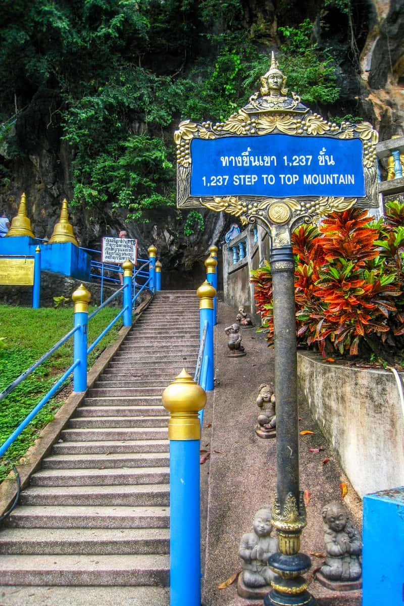 Best 1237 Wiccan Images On Pinterest: The Tiger Cave Temple In Krabi, Thailand Is Worth The