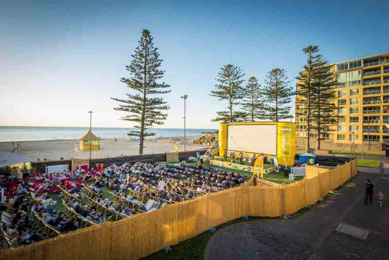Ben & Jerry's Openair Cinema in Adelaide