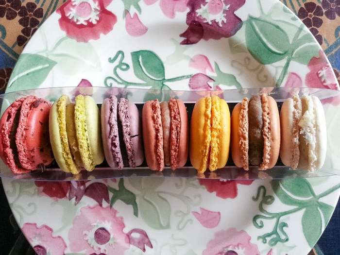 Macaroons from Pierre Marcolini